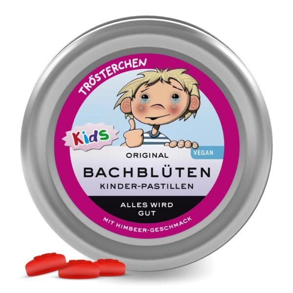 Bachblüten Pastillen Kinder Original Bachblüten Trösterchen Pastillen alles wird gut für Kinder Lemon Pharma Bachblüten Bonbons Murnauers
